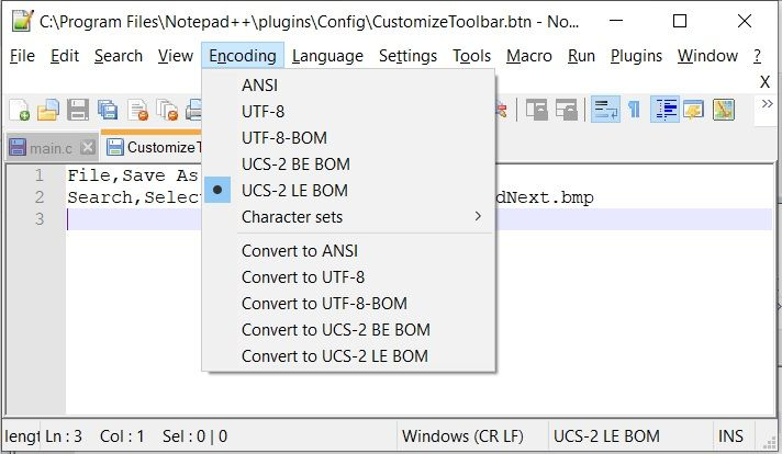 Notepad++CustomizeToolbar.btnEncoding.jpg